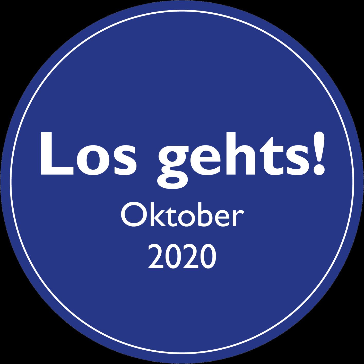 Los Gehts! September 2020